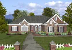 Southern Style Floor Plans Plan: 4-303