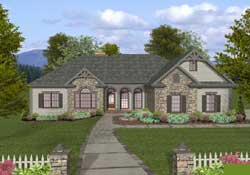 Southern Style House Plans Plan: 4-305