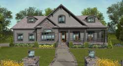 Craftsman Style House Plans Plan: 4-309