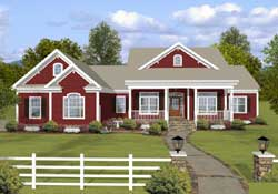Country Style House Plans Plan: 4-310