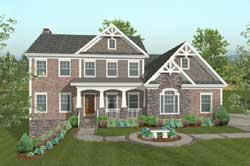 Craftsman Style House Plans Plan: 4-313