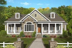 Country Style House Plans Plan: 4-314