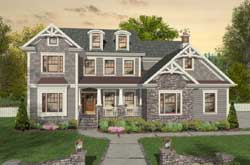 Craftsman Style Floor Plans Plan: 4-318