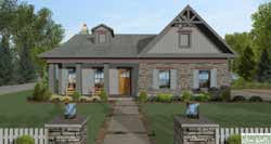 Craftsman Style Floor Plans 4-319