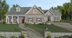 Craftsman Style House Plans 4-320