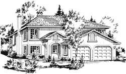 Sunbelt Style House Plans Plan: 40-136