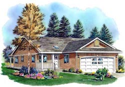 Traditional Style House Plans Plan: 40-146