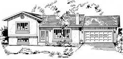 Southwest Style House Plans Plan: 40-156