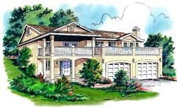 Southwest Style House Plans Plan: 40-160