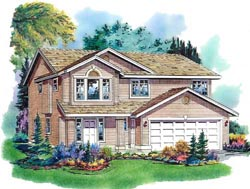 Traditional Style Floor Plans Plan: 40-175