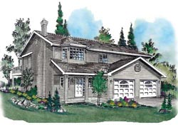 Traditional Style Floor Plans Plan: 40-193