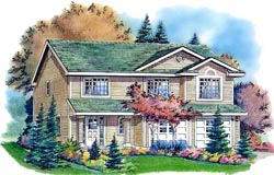 Traditional Style Floor Plans Plan: 40-214