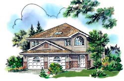 Traditional Style House Plans Plan: 40-216