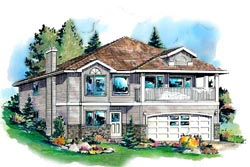 Traditional Style House Plans Plan: 40-220