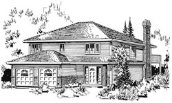 Traditional Style House Plans Plan: 40-226