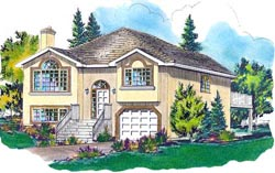 Traditional Style House Plans Plan: 40-232