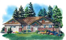 Traditional Style House Plans Plan: 40-233