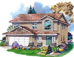Traditional Style House Plans Plan: 40-240