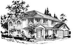 Southwest Style House Plans Plan: 40-260