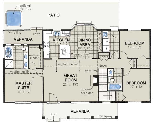 Main Floor Plan: 40-279