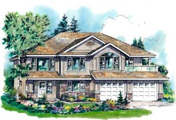 Traditional Style House Plans Plan: 40-307