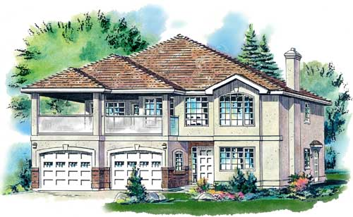 Traditional Style Floor Plans Plan: 40-308