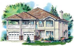 Traditional Style House Plans Plan: 40-308