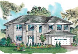 Traditional Style House Plans Plan: 40-317
