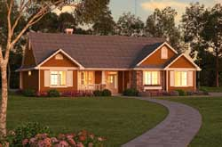 Traditional Style Home Design 40-321