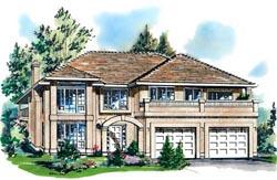 Southwest Style House Plans Plan: 40-327