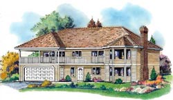Traditional Style House Plans Plan: 40-362