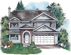 Traditional Style Floor Plans Plan: 40-363