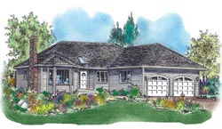 Traditional Style House Plans Plan: 40-381