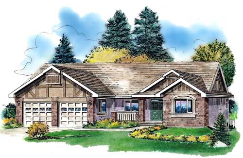 Traditional Style Floor Plans Plan: 40-382