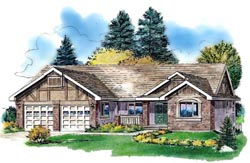 Traditional Style House Plans 40-382