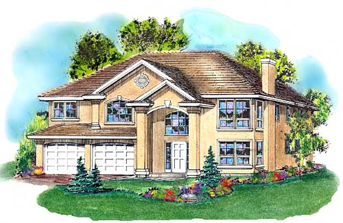 Traditional Style Floor Plans Plan: 40-395