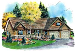 Traditional Style Home Design 40-410