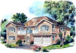 Southwest Style House Plans Plan: 40-472