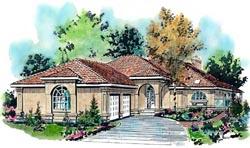 Southwest Style Floor Plans Plan: 40-506