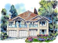 Southwest Style House Plans Plan: 40-507