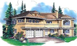 Southwest Style House Plans Plan: 40-526