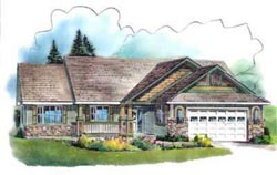 Traditional Style House Plans Plan: 40-599