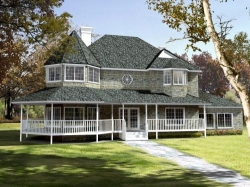 Victorian Style Floor Plans Plan: 41-1026