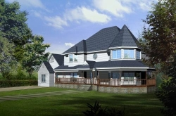 Victorian Style House Plans Plan: 41-1034