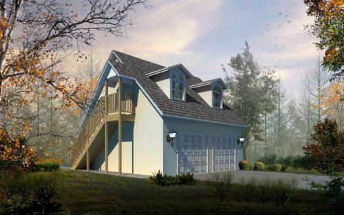 Cape-cod Style House Plans Plan: 41-104
