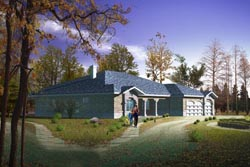 Southwest Style Floor Plans Plan: 41-1066