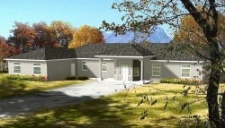 Traditional Style Home Design Plan: 41-1180