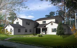 Traditional Style Floor Plans Plan: 41-1183