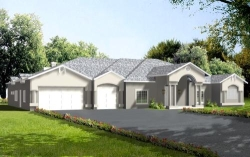 Mediterranean Style House Plans Plan: 41-1195