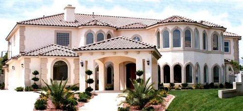 Mediterranean Style Home Design Plan: 41-1238